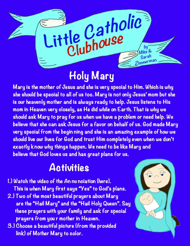 Day 15 Holy Mary