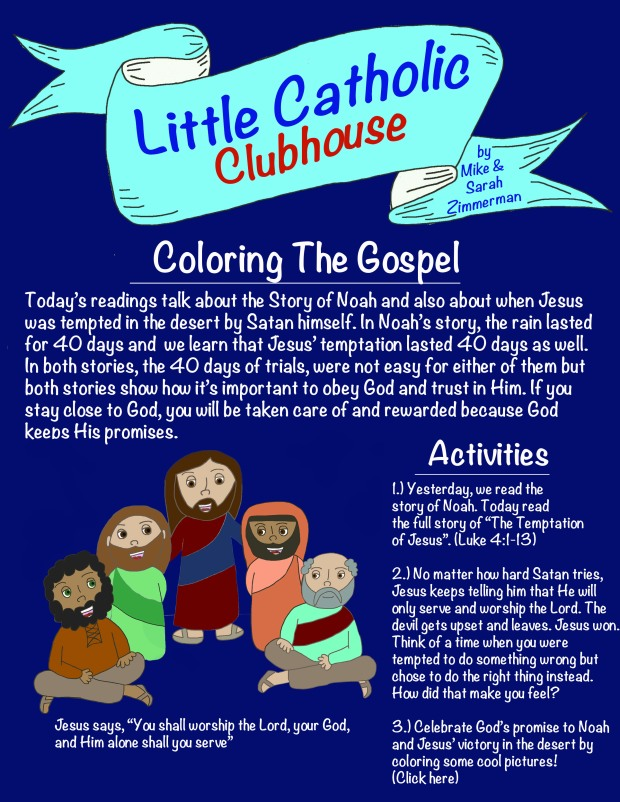 Day 5 Coloring the Gospel