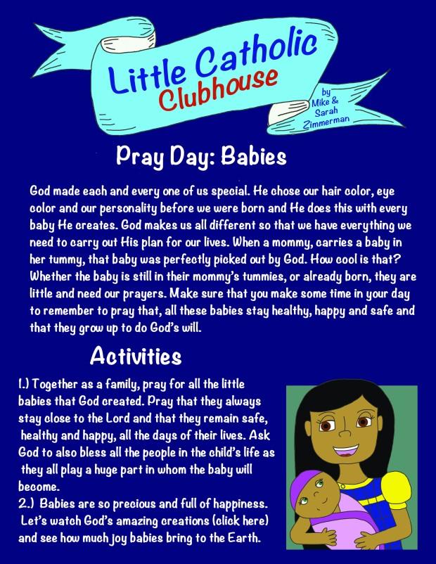 Day 16 Pray Day Babies
