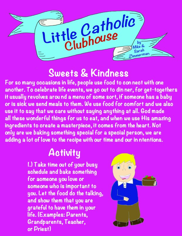 Day 18 Sweets and Kindness