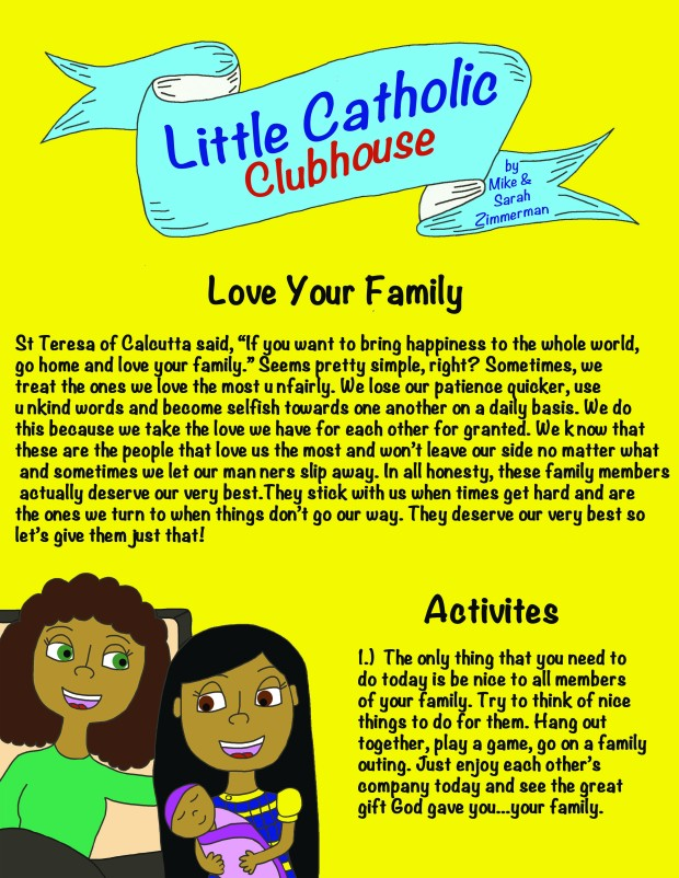 Day 20 Love Your Family