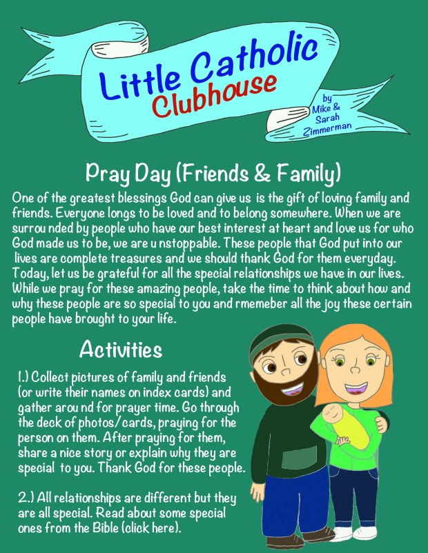 Day 23 Pray Day Family and Friends