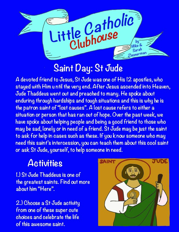 Day 35 Saint Day St Jude