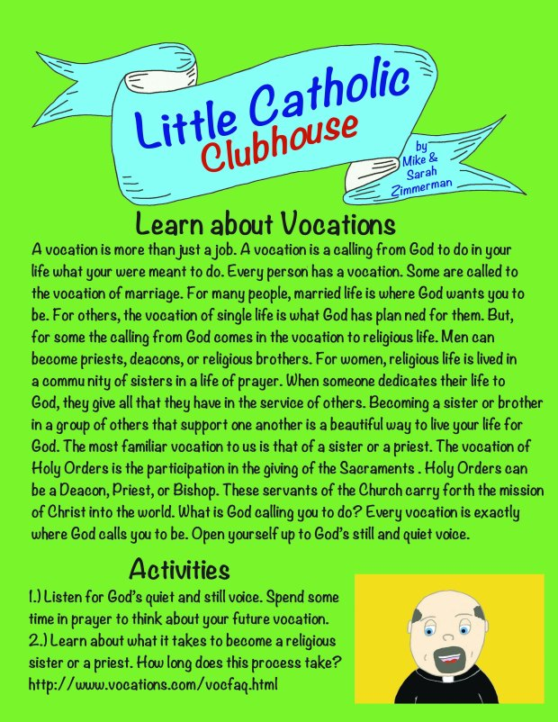Day 40 Learn about vocations