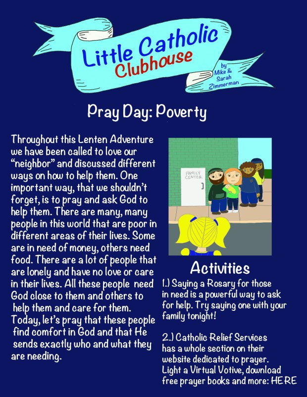 Day 44 Pray Day Poverty