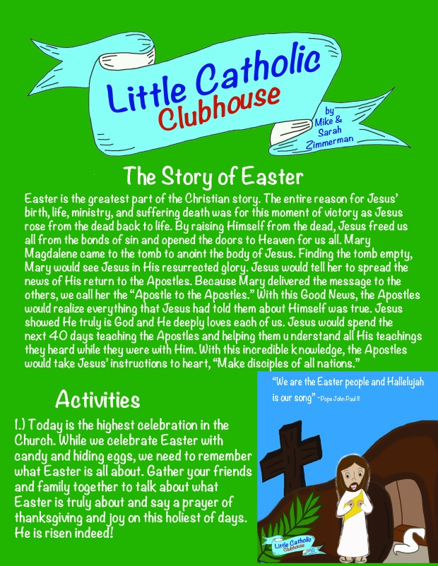 Day 47 The Story of Easter